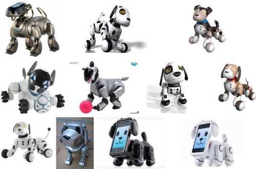 perros robot juguete