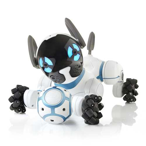 perro robot chip wowwee